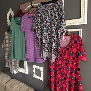 Lularoe Shirt Bundle SZ XS-SM